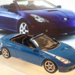 elaborazioni scala 1:43   Toyota celica cabriolet