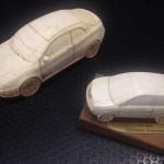 Alfa Romeo GT e Lancia Y trovate ad un mercatino, probabilmente prove di stile realizzate al computer