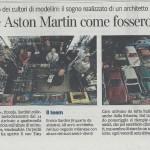 """13/05/2013 - Corriere della Sera, """"Scambiamo Ferrari e Aston Martin come fossero figurine"""" di Stefano Landi"""