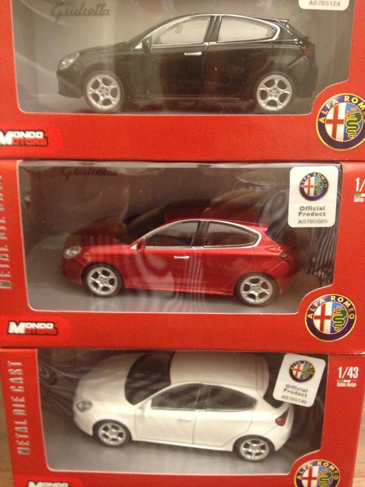 Alfa Romeo Giulietta Mondo Motors scala 1:43 - Tiny Cars