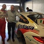 La Tiny Porsche di Sabino in preparazione per la Cup a Monza!