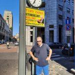 Edoardo in Corso Matteotti! Il Tiny Orologio!