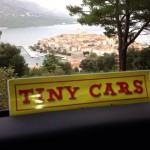 In viaggio con Tiny Cars! A Korćula