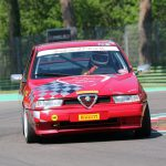 La Tiny Alfa Romeo 155 di Renato Benusiglio corre ad Imola!