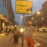 Notturno davanti al Tiny Orologio di C.so Buenos Aires!