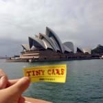 Tiny Cars all'Opera House di Sidney!