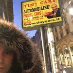 Troppo fashion il selfie col Tiny Orologio!