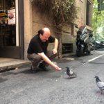 Anche Paolo fa amicizia con Piccio!