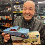 Cesare ha trovato un bel giocattolo giapponese. Prince Sport Skyline Coupe Atc Made in Japan