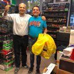 Col mio nuovo amico Juan dalla Spagna!