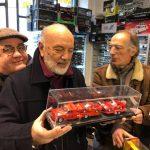 Consegna a Franco della nuova realizzazione di Giampiero Varesi su base Greenlight Brumm ed edicola!
