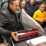 Debutto in societa' dell'Alfa Romeo Mille bisarca Rolfo autocostruito da Massimo Carini!