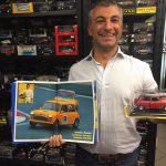 Federico Boratto ci presenta il Tiny Libro con le immagini della Sua Tiny Mini in azione nel Challenge Fia Auto Storiche