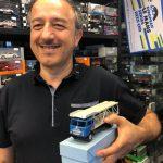Il felice acquirente della Bisarca Fiat della Mercury!
