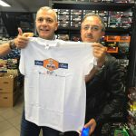 La fantastica maglietta di quelli della Polistil! Un onore riceverla in omaggio! Graziee!