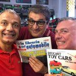 Luca ha comprato dagli amici della Libreria dell'Automobile un bellissimo libro!