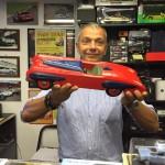 Mr. G. Ci porta questa chicca, una meravigliosa auto in legno marcata Tekno mai vista prima: qualcuno ne sa Qualcosa?