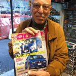 Renato Benusiglio a Imola con la 155 della Scuderia del Portello sulla rivista Grace 8090, Tiny Cars presente !