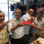 Tiny Torta! Gentilmente offerta dagli amici Lella e Andrea della Pastcceria La Pagnottella di C.so Genova, 1 angolo V.le Gorizia a Milano