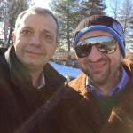 Selfie col mitico Luca Viscardi