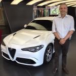 Alfa Romeo Giulia con Enrico Sardini di Tiny Cars