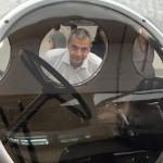 Visita al Museo Alfa Romeo! - Enrico Sardini al finestrino