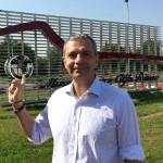 Visita al Museo Alfa Romeo! - Enrico Sardini all'esterno