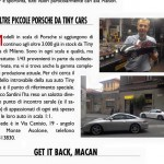 Tiny Cars sul numero 83 - 2015 di Tutto Porsche