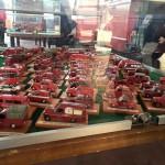 Collezione di modelli dei vigili del fuoco