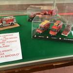 Collezione di modelli dei vigili del fuoco di Milano realizzati da Nicolò Fortunati