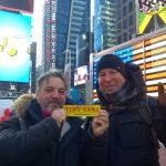 Buon anno 2018 da New York da Ettore e Roberto