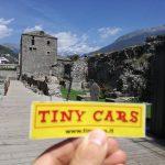 Da Luca Tiny Cars presso un Teatro romano ad Aosta
