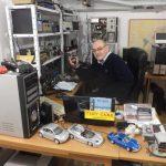 Dal Tinyamico Rodolfo radiomatore SV1AGU, saluti da A.Glyfada Atene