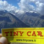 Gran Paradiso e ghiacciaio della tribolazione dalla Pointe Creya (3015 m)