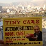Tiny Cars e' anche a Teheran in Iran , tra le più' grandi megalopoli del mondo con i suoi 16 milioni di abitanti !