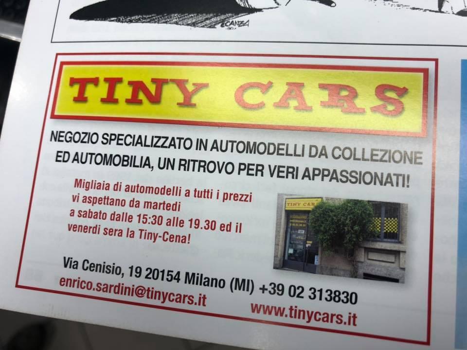 E' uscito Modelli Auto n' 134! Tiny Cars presente!