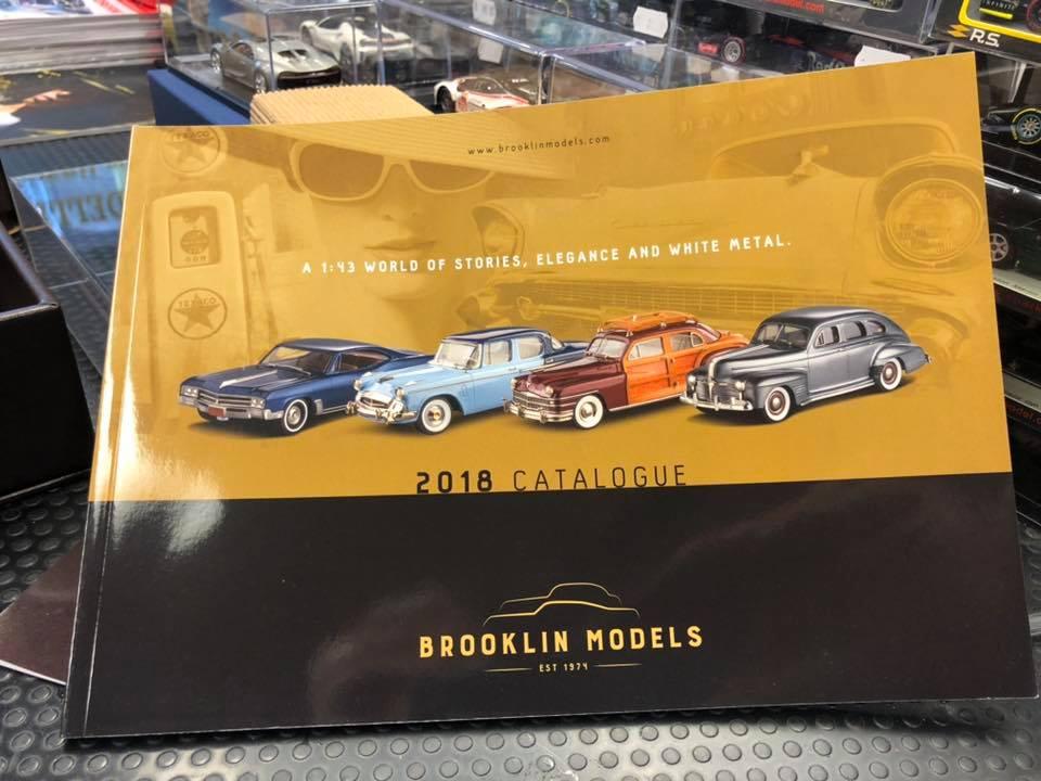 Da oggi possiamo ordinare i fantastici modelli Brooklin scala 1:43!!!