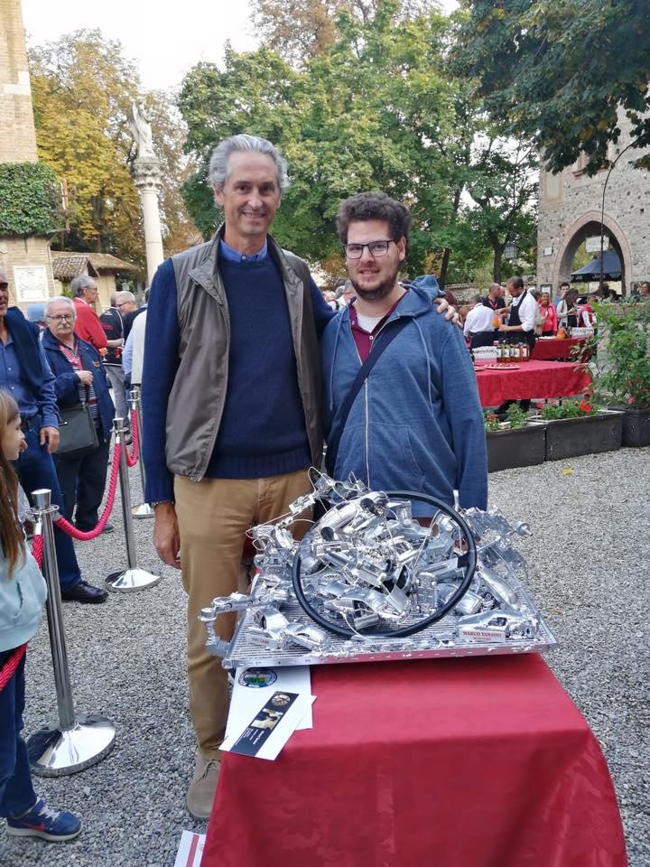 La scultura di Marco è stata donata a Luchino Visconti di Modrone, Conte di Modrone