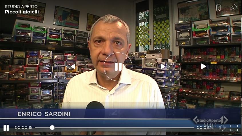 Enrico Sardini su Italia1 Studio Aperto mag