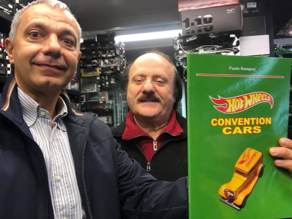 Paolo Rampini ci presenta il suo ultimo libro: Hot Wheels Convention Cars
