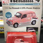 Renault 4 GTL Picnic Katrca edicola francese