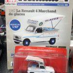 Renault 4 Marchand de Glaces edicola francese