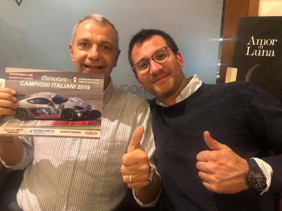 Sabino de Castro. Campione Italiano!