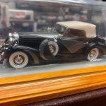 Mercedes 500K 1935 Ilario scala 1:43