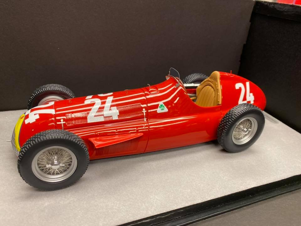 Alfa Romeo Alfetta 159 M Winner Swiss GP 1951 Tecnomodel scala 1:18