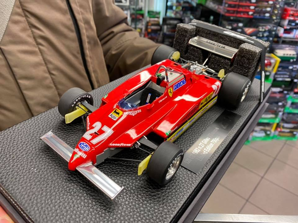 Ferrari 126 C2 Gilles Villeneuve GP Replicas scala 1:18
