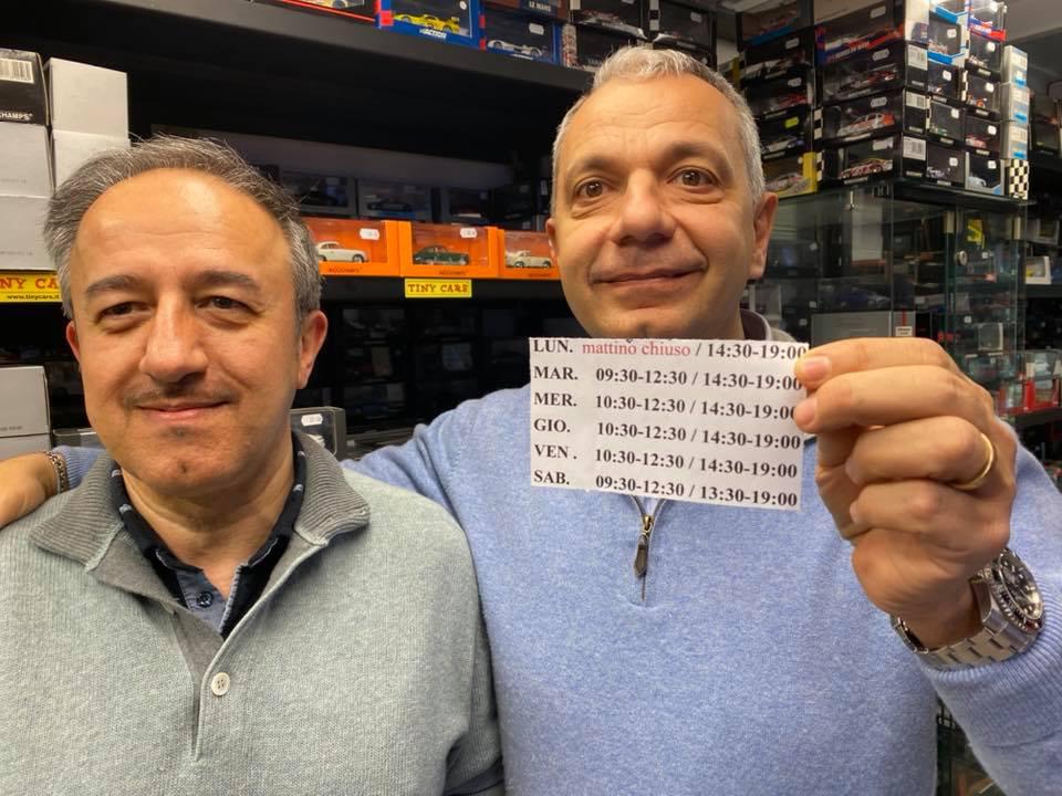 Sorpresa! Da sabato Massimo sara' sempre con noi! Tiny Cars inaugura il nuovo Tiny Orario! Vi aspettiamo!