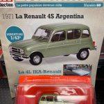 Renault 4S Argentina edicola francese