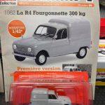 Renault R4 Fougonnette 300 Kg edicola francese
