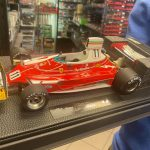 Ferrari 312 T 1975 Clay Regazzoni GP Replicas scala 1:18